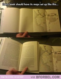 Book Maps Should Come Like This…