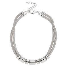 Windsmoor Metal Ring Necklace- at Debenhams.com
