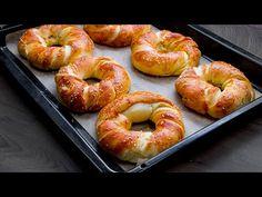 Recept, který dobyl celou Evropu! |Cookrate - Czech - YouTube Party Snacks, Bagel, Doughnut, Entrees, Pizza, Homemade, Desserts, Youtube, Afternoon Snacks