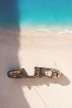 Shipwreck, Zakynthos, Greece