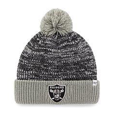 Oakland Raiders Tassel Hat