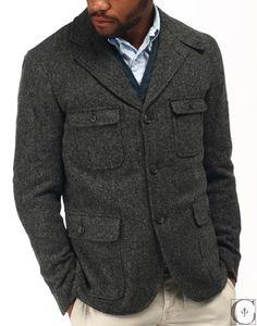 Woolrich Woolen Mills Cincinnati Jacket Herringbone