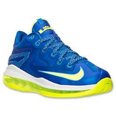 sports shoes d54c6 ff675 Boys Grade School Nike LeBron 11 Low Basketball Shoes  Finish Line   Hyper Cobalt