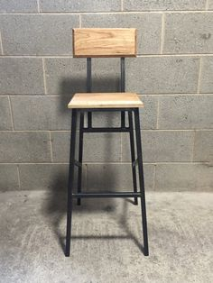247 bar stool retro industrial look bar stool with