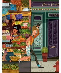 Apenas tiene 24 años y ya ha dibujado para marcas reconocidas. Paola Escobar ha desarrollado estéticas y técnicas de altísimo calibre, sus ilustraciones están llenas de color y cada detalle cuenta una historia; nada está ahí porque sí.