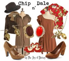 Outfits Inspired by Chip n' Dale!
