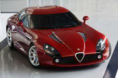 Luxury Cars  :   Illustration   Description   Alfa Romeo TZ3 Stradale.