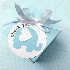 Baby Elephant Thank You tags. Birthday party favors, baby shower thank you gifts, new baby. Pastel blue, white and grey. Text options. by MyPaperPlanet on Etsy https://www.etsy.com/listing/269375591/baby-elephant-thank-you-tags-birthday