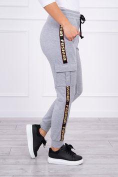 Dámske tepláky Fashion sivé Sweatpants, Fashion, Moda, Fashion Styles, Fashion Illustrations