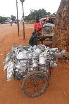 Household Goods Vendor - Bobo-Dioulasso - Burkina Faso