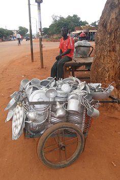 Household Goods Vendor - Bobo-Dioulasso - Burkina Faso