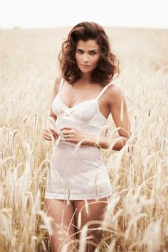 Eye Candy: Helena Christensen For Triumph Lingerie
