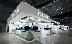 "ITEM in JRC 2015 ""FUJIFILM"" booth   Designcafe™ 空間設計・店舗設計・展示会デザイン 東京"