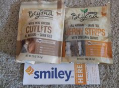 #smiley360 #purinabeyond # doggytreats #beyondsnacks #freeproduct My dog loves these! They smell a little rough but the dogs seem to love them!!!