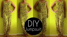 DIY Summer Clothes | How To Sew A Jumpsuit