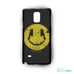 music smile AR for Samsung Galaxy Note 2/3/4/5/Edge phonecase