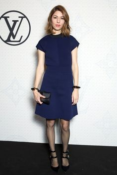 Sofia Coppola in Louis Vuitton