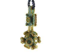 Liisa Turunen Designs - Manx Pendant Beading Kit Turquoise
