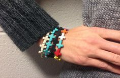 Trendy Cross Bracelets - 4 Colors Available 60% off at Groopdealz