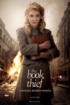 The Book Thief - the film. She's perfect for Liesel!