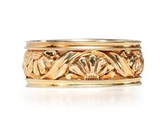 Daisies Forever: Rose Gold Eternity Band - The Three Graces