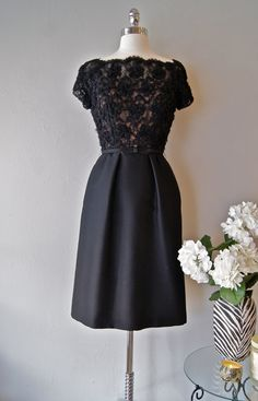 1960s Lace Couture...something a Lady would wear.