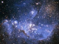 小マゼラン雲中の若い星