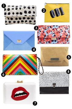 This spring, make a statement with bright accessories. Shop these 8 clutches and 8 other purse trends this season.