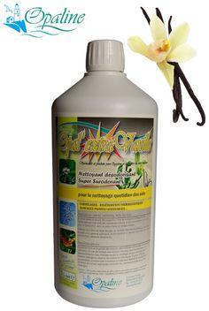 Nettoyant concentré pour sols stratifiés et carrelages au parfum vanille surodorant puissant - OPAL EXTRA VANILLE