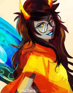 Homestuck / Viria is such an amazing artist.