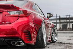 Rocket Bunny RCF Red