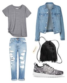 """Untitled #2"" by anamaria-51 ❤ liked on Polyvore featuring Genetic Denim, NIKE and H&M"