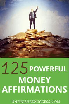 125 Incredible Money Affirmations For Wealth | Are you looking to improve your personal finances? Money affirmations are a great starting point. Here are 125 money mantras to try to start bringing wealth and abundance into your life. #Money #affirmations #lawofattraction #positiveaffirmations #abundance #manifest #dailyaffirmations