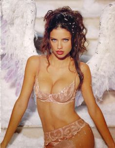 48f5c8dd9c423 brazilian-bombshells  One of Adriana s iconic looks for Victoria s Secret  Adriana Lima Lingerie