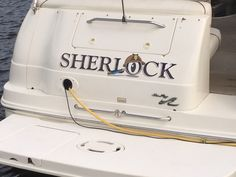Sherlock Boat Graphic Wrap Done By Sign Pro Inc.