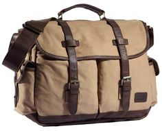 Grab your very own high-end canvas and leather student messenger bag from Serbags at a discounted price.