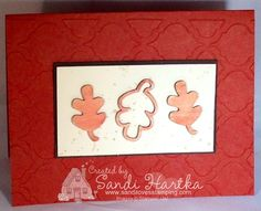 Stampin'Up! Autumn wooden elements, Stampin'Up! hand-stamped greeting cards, sandihartka@sandilovesstamping.com