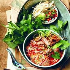 Hue Noodle Soup With Beef & Pork