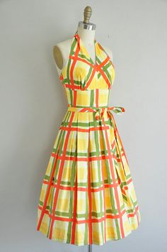 vintage 1950s Catalina cotton dress / 50s by simplicityisbliss, $350.00