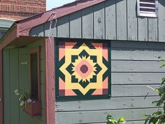 Custom 2' x 2' Barn Quilt Block Design by BarnSquaresOfAmerica, $89.00