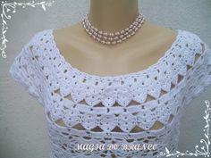 Peça confeccionada em linha de algodão com pala. TAMANHO M.  Pode ser feita nos tamanhos P, M, G.
