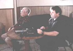 polygraph being given to bob white in 2003 by police officer and expert in lie detection. this was given with cameras present. Ufo Sighting, Ancient Aliens, Police Officer, Bob, Larry, Cameras, Museum, Group, Bob Cuts