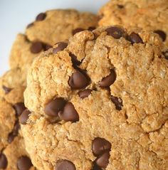 Chocolate Chip Cookies (Gluten-free, grain-free)