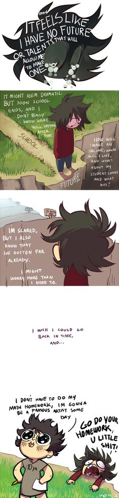 Fail by Error :: I wish I could go back to the start. | Tapastic Comics - image 1