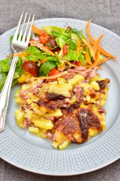 Skinkfrestelse | Elina & Mickes mat Hawaiian Pizza, Mozzarella, Food And Drink, Lunch, Chicken, Meat, Ethnic Recipes, Recipes, Eat Lunch