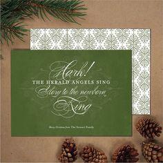 Religious Christmas Card Christian Greeting Card by BanterandCharm, $45.00