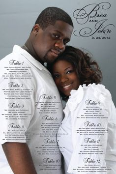 Photo Wedding Seating Chart by conncall on Etsy, $55.00