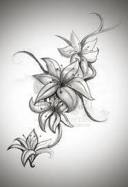 lily tattoo idea                                                                                                                                                                                 More