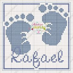 Atelier Colorido PX: Fralda - Rafael! (encomenda)