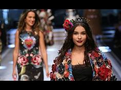Dolce & Gabbana | Full Show | Milan Fashion Week | Fall/Winter 2017/2018 - YouTube